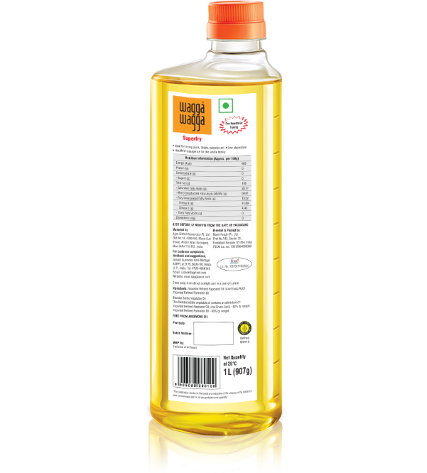 Wagga Wagga Superfry - Healthiest cooking oil for frying in India